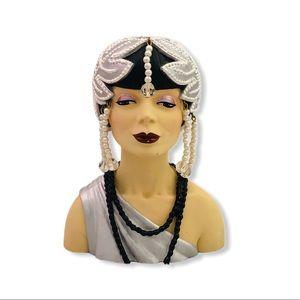 Clarissa 1922 Silent Siren Cameo Girls Head Vase